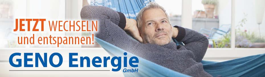 GENO-Energie - die günstige Alternative für Gas und Strom