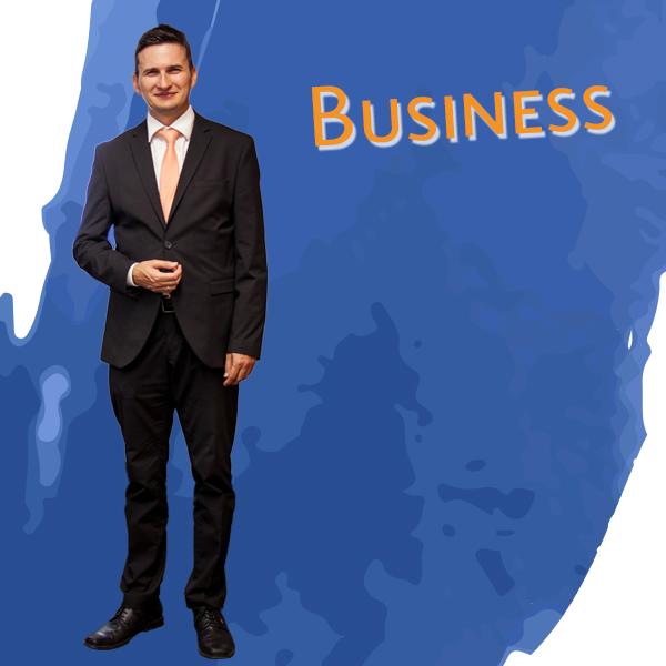 Marco Schmetzer im Dresscode Business