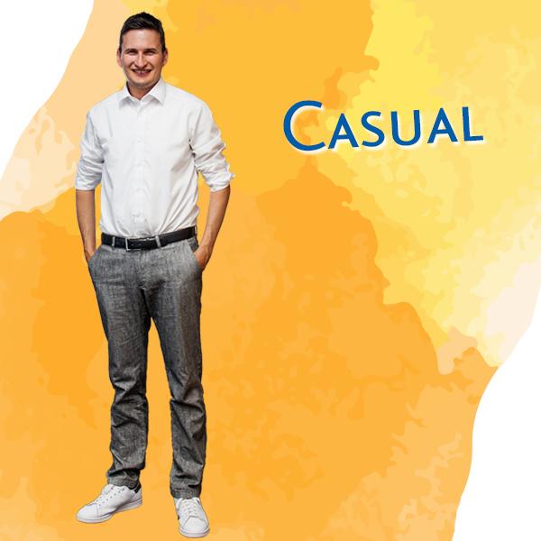 Marco Schmetzer im Dresscode Casual